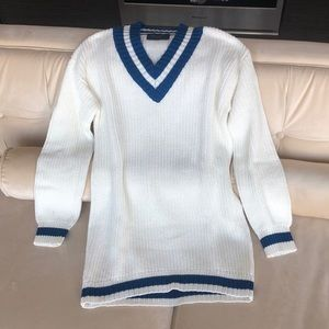 NWOT Romeo & Juliet Couture Varsity Fitted Sweater